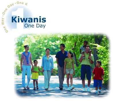 Kiwanians all over the world gave one day together for the children of the world.